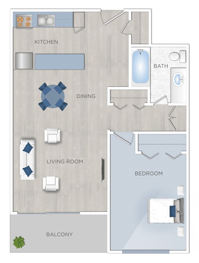 One Bedroom Apartments for Rent In West Los Angeles
